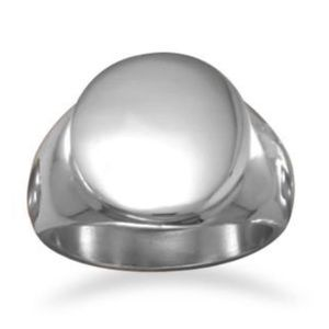 Engravable Stainless Steel Ring
